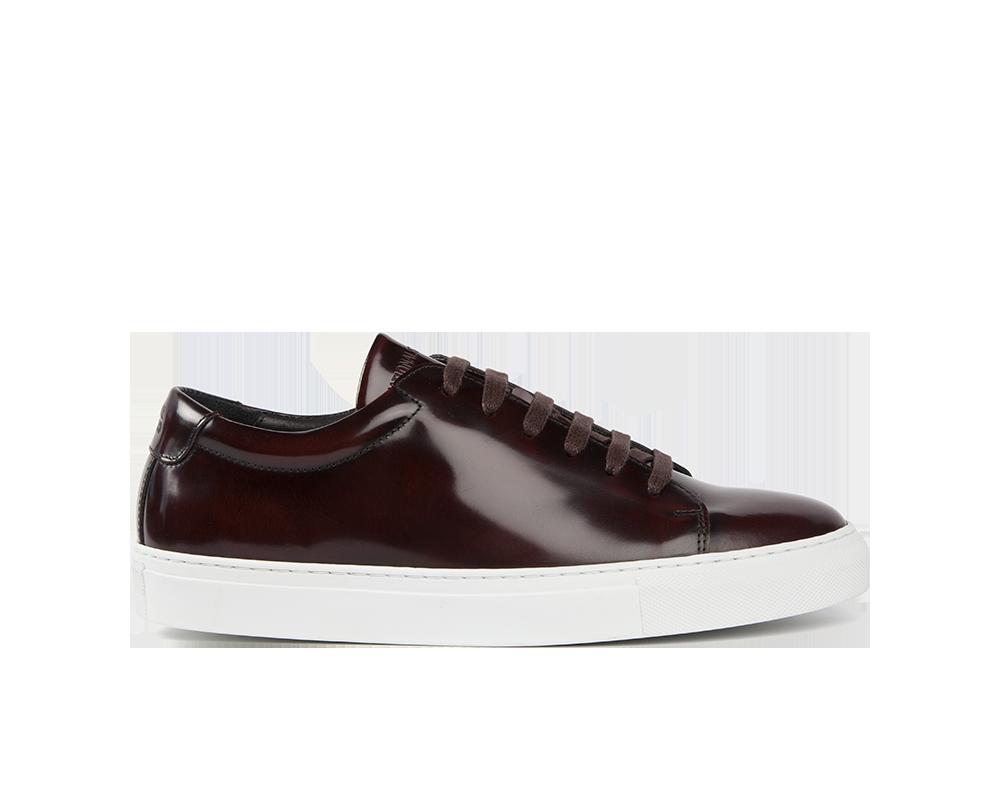 Edition 3 sneakers basses spazzolato bordeaux