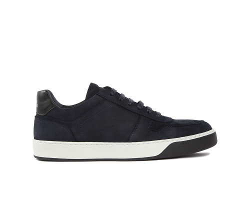Edition 6 sneakers basses blanches marine