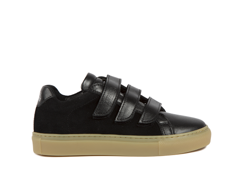 Edition 3 all over black low sneakers