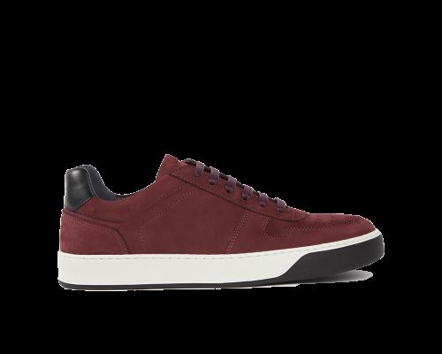 Edition 6 sneakers basses bordeaux