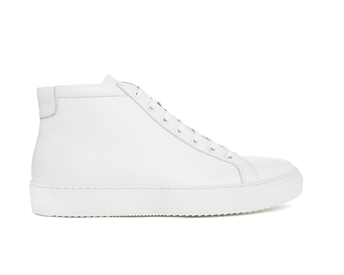 Edition 2 sneakers montantes blanches