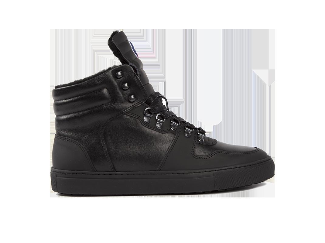 Edition 1 Fusalp sneakers montantes fourrées noir
