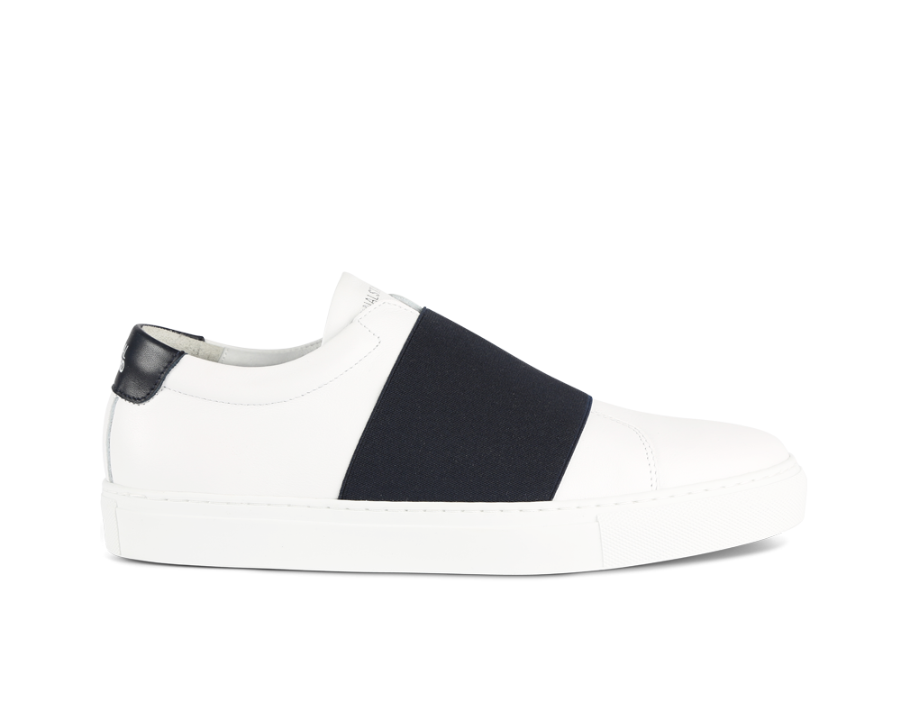 Edition 33 sneakers blanches et marine