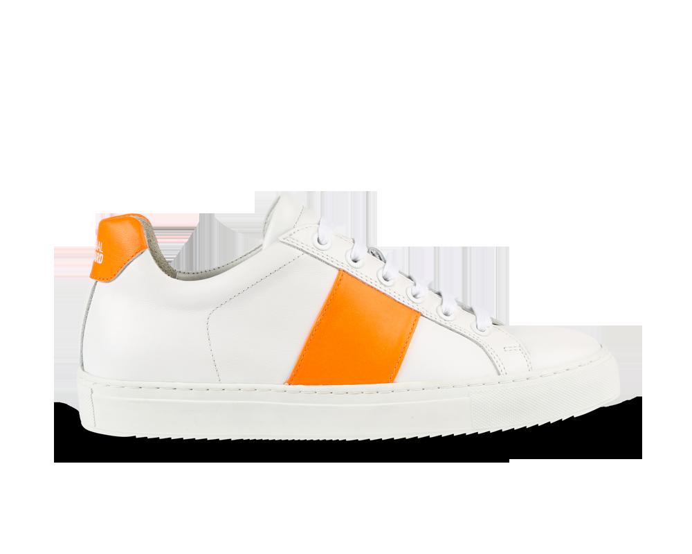 NEW Edition 4 blanche bande orange